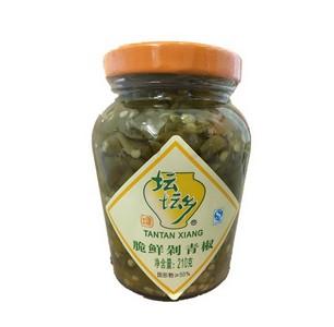 坛坛乡 脆鲜剁青椒 210g
