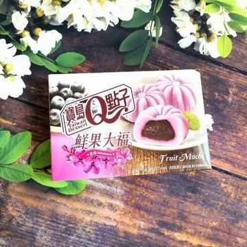 宝岛Q点子 鲜果大福 蓝莓味 210g