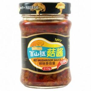 百山祖菇酱香辣味210g