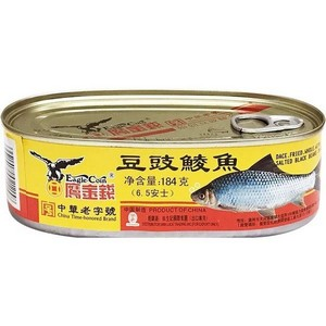 鹰金钱 豆豉鲮鱼 184g