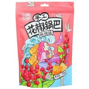 花椒世家 手工花椒锅巴 麻辣味 158g