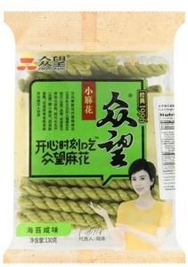 众望麻花 海苔咸味小麻花 200g