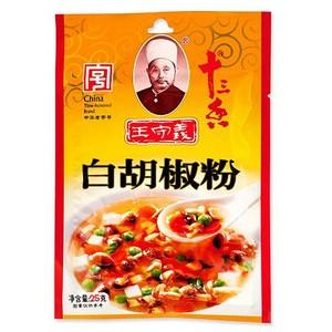 王守义 白胡椒粉 25g