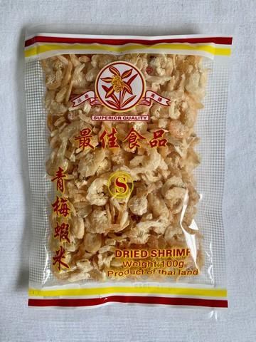 兰花商标 青梅虾米 (s)100g