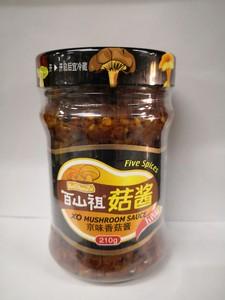 百山祖京味香菇酱210g