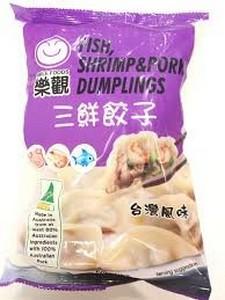 乐观 三鲜饺子 600g