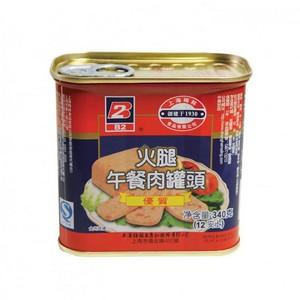 B2火腿午餐肉罐头  340克