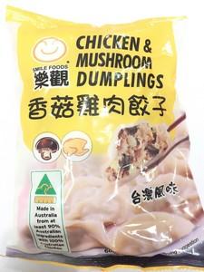 乐观 香菇鸡肉饺子 600g