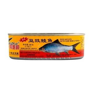 鹰金钱 辣豆豉鲮鱼 184g