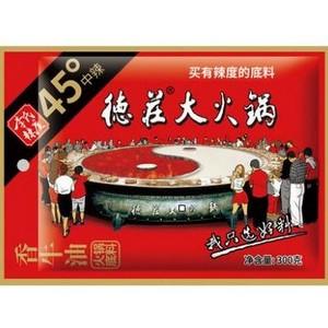 德庄 香牛油火锅底料45°中辣