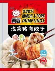 乐观 泡菜猪肉饺子 600g