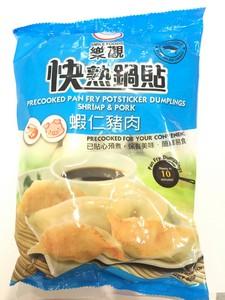 乐观 虾仁猪肉快熟锅贴500g