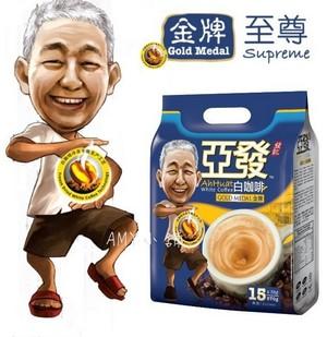 亚发白咖啡 金牌 570g(15条装)