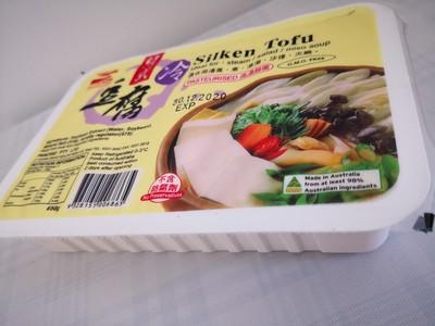 香滑 绢式豆腐650g