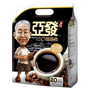 亚发 含糖黑咖啡400g