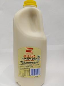香滑豆奶 无糖(黄盖)2L