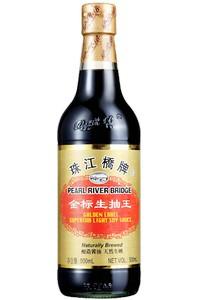 珠江桥牌 金标生抽王  600ml